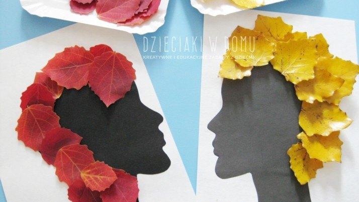 Jesienne stylizacje – praca plastyczna