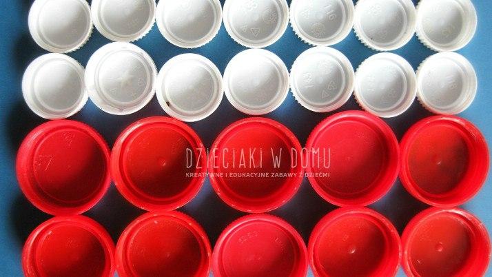 Biało – czerwone układanki, czyli polska flaga kreatywnie