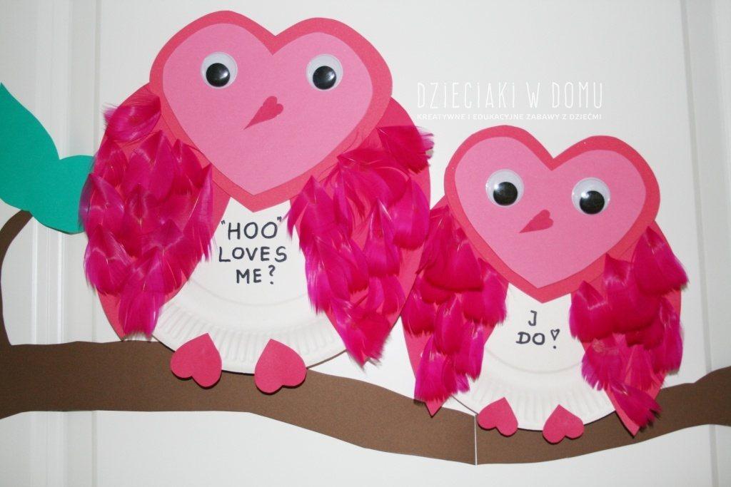 Walentynkowe sowy