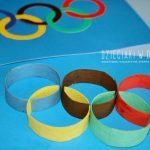 Koła olimpijskie kreatywnie