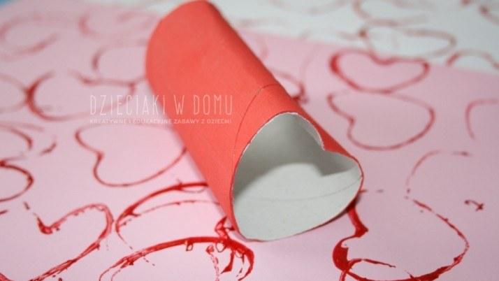 Walentynkowe stemple