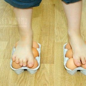 wytrzymałość jaja - eksperyment dla dzieci