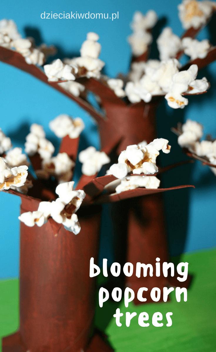 kwitnace drzewka - praca dla dzieci