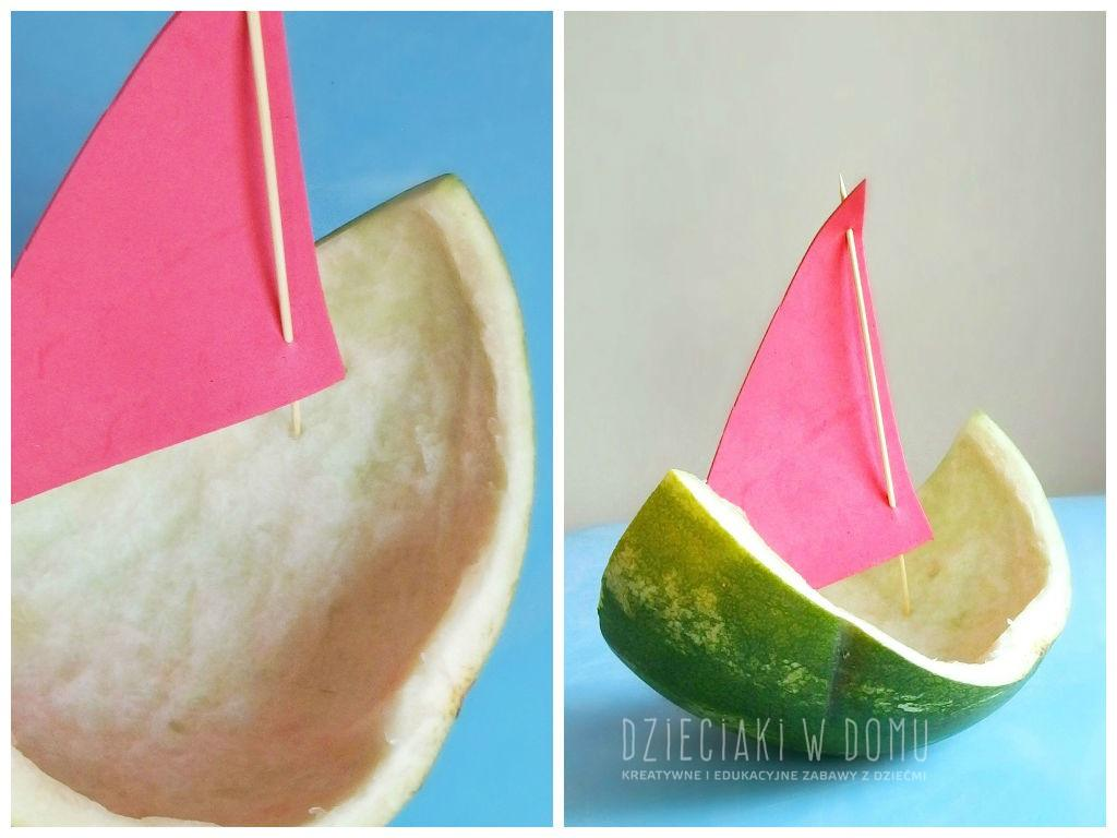 Arbuzowe łódki