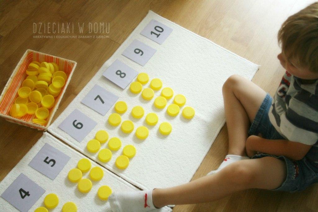 przeliczanie do 10 - kreatywna matematyka dla dzieci