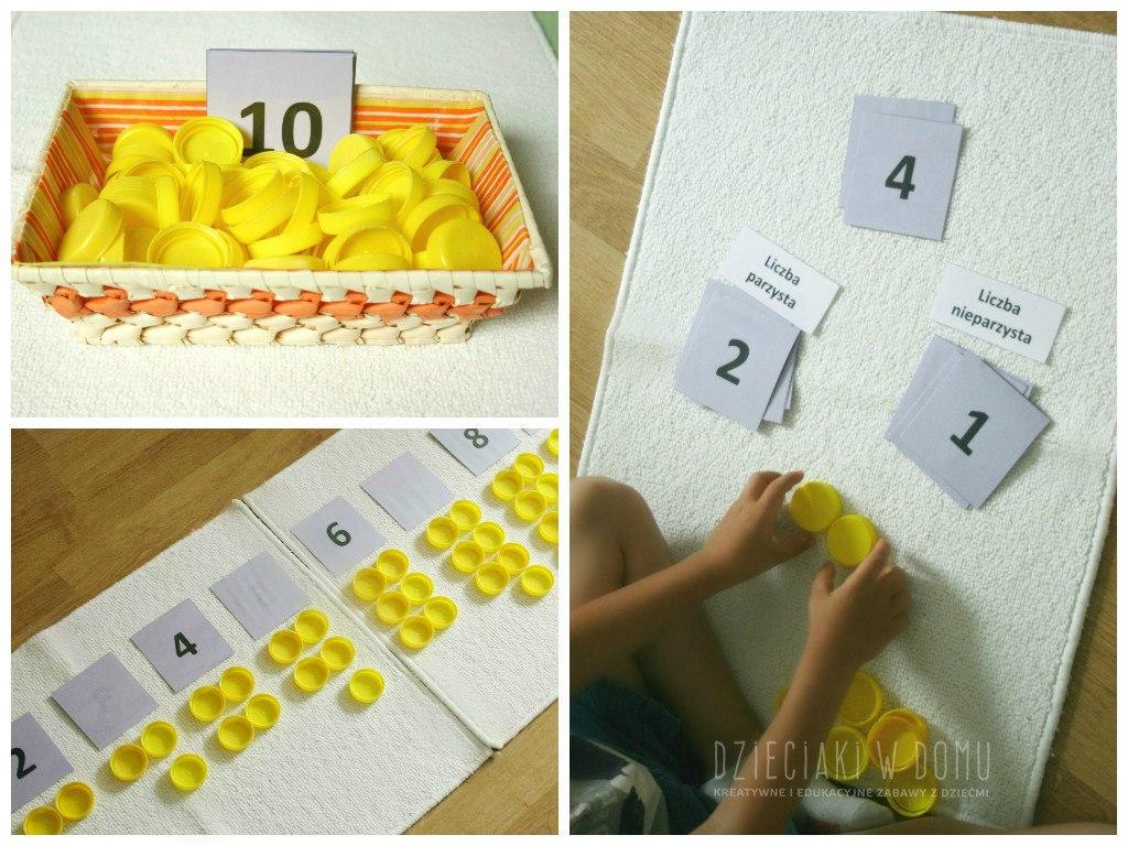 liczby parzyste i nieparzyste - lekcja dla dzieci