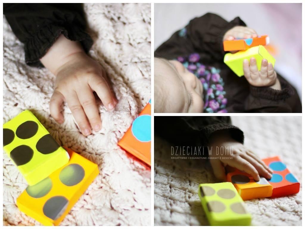 pudełka sensoryczne dla niemowlaka