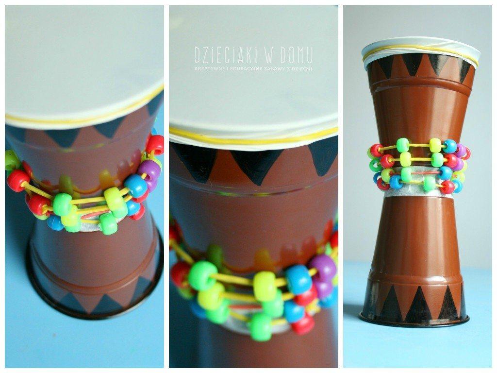 afrykańskie djembe - kreatywna praca dla dzieci