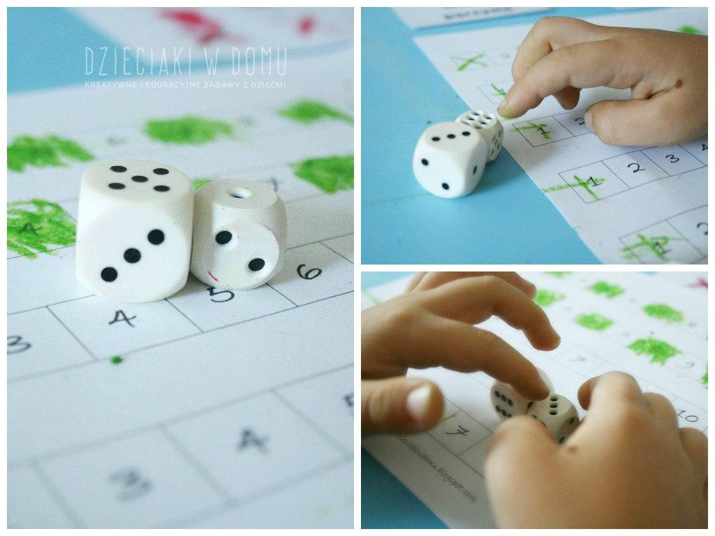 liczby parzyste i nieparzyste - gra dla dzieci