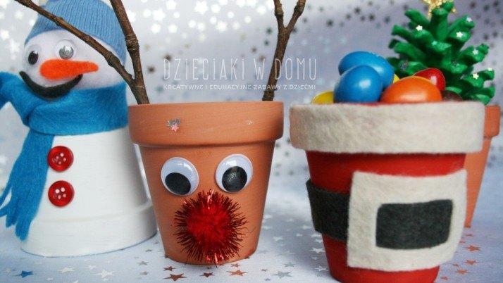 Bożonarodzeniowe dekoracje do dziecięcego pokoju
