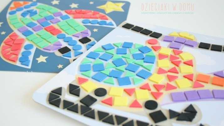 Moja pierwsza mozaika – kreatywna zabawka dla dzieci