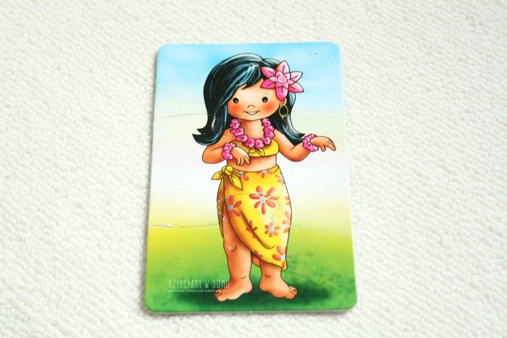hawajskie lei i taniec hula - kreatywne prace dla dzieci