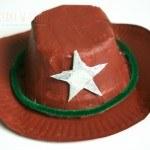 Kowbojski kapelusz i harmonijka