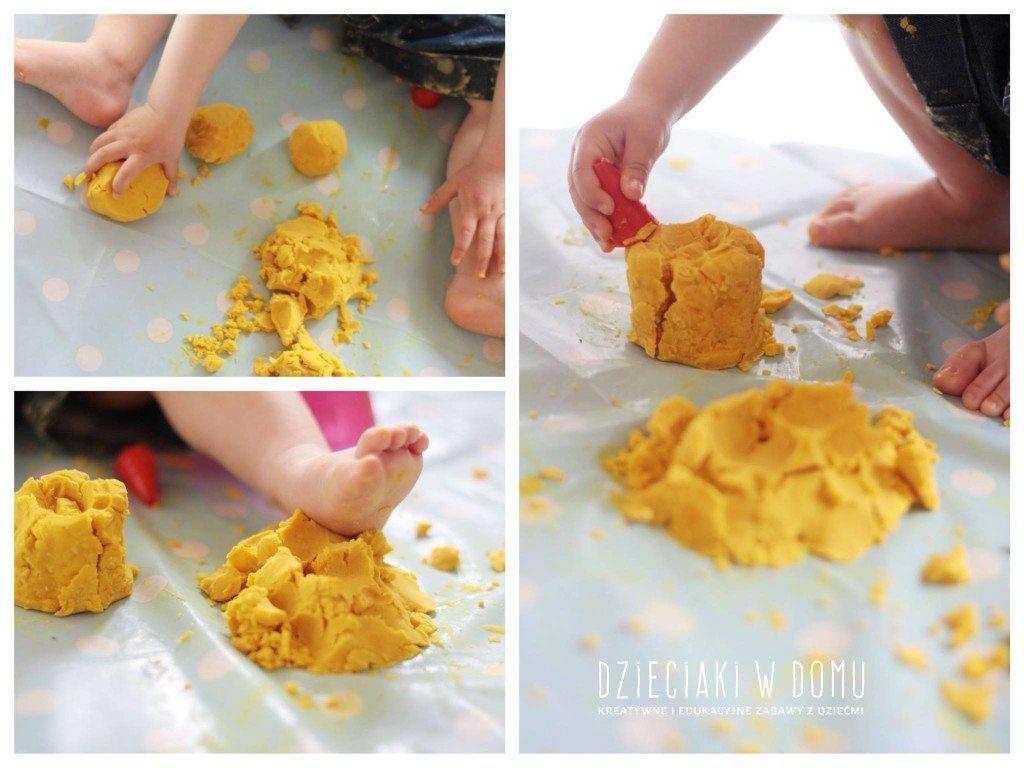 przepis na ciastolinę dla najmłodszych dzieci