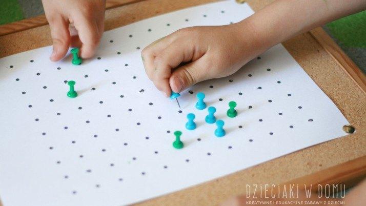 Kropki i kwadraty – gry, które zdominowały popołudnia moich dzieci