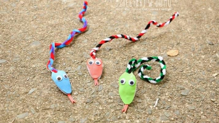 Wyciorkowe węże