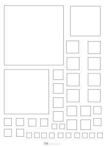 kwadraty - szablon