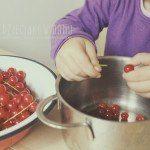 Robimy porzeczkowy kompot – wspólny czas z dzieckiem w kuchni