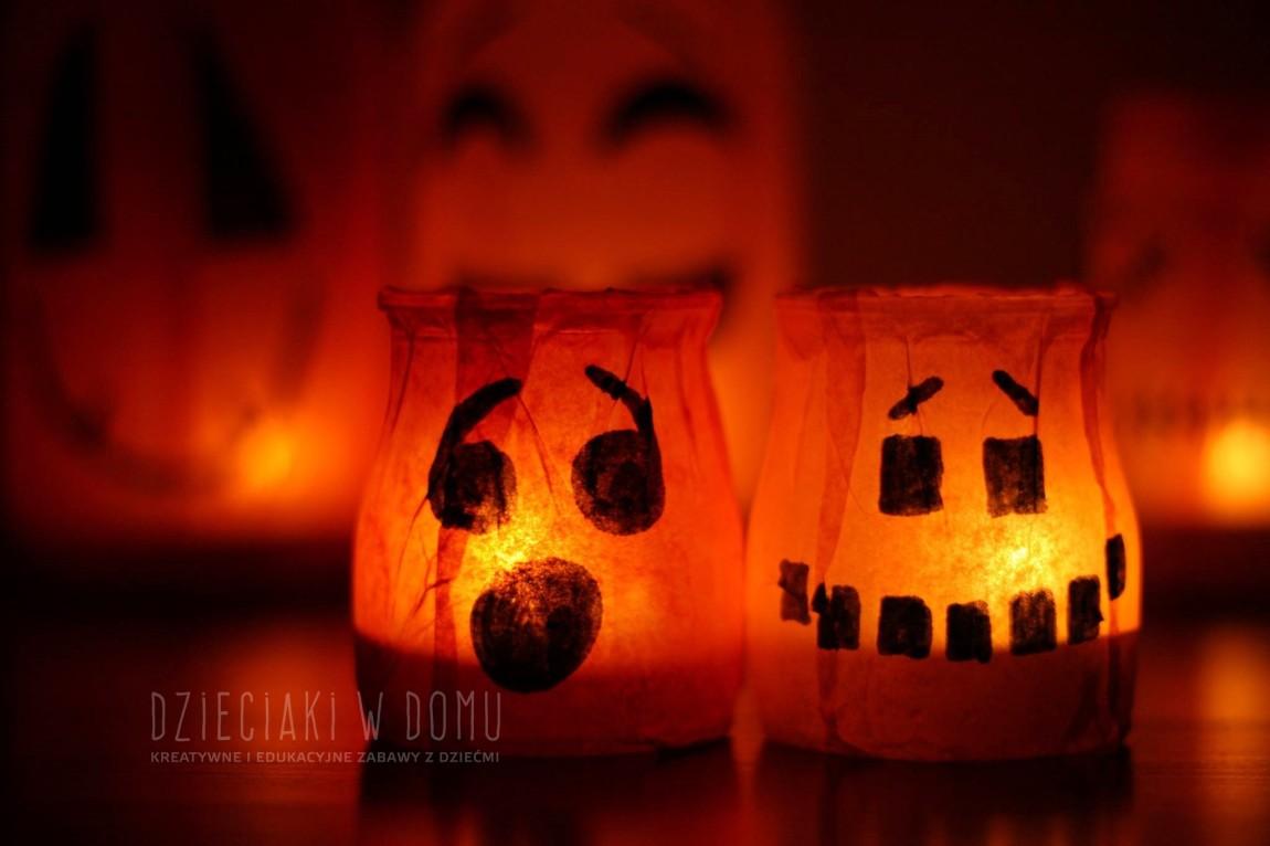 Dyniowe lampiony na Halloween