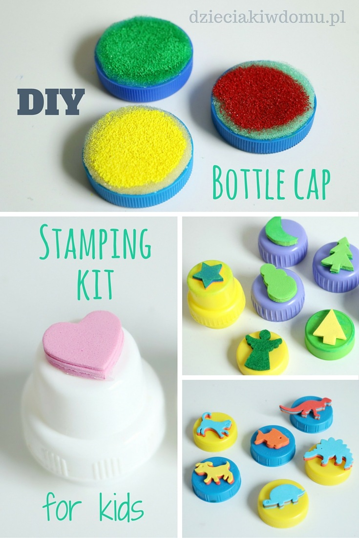 DIY stamping kit for kids