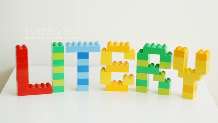 Litery z Lego Duplo