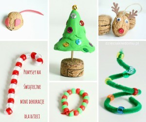 świąteczne prace kreatywne w wersji mini