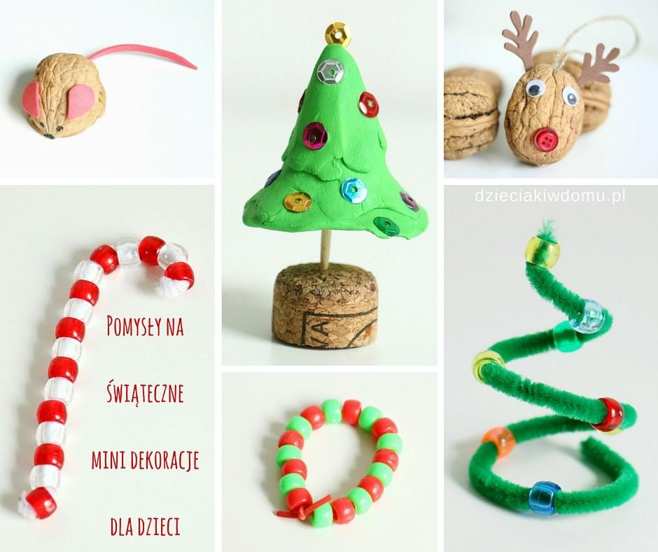 10 pomysłów na świąteczne prace kreatywne w wersji mini – idealne do kalendarza adwentowego
