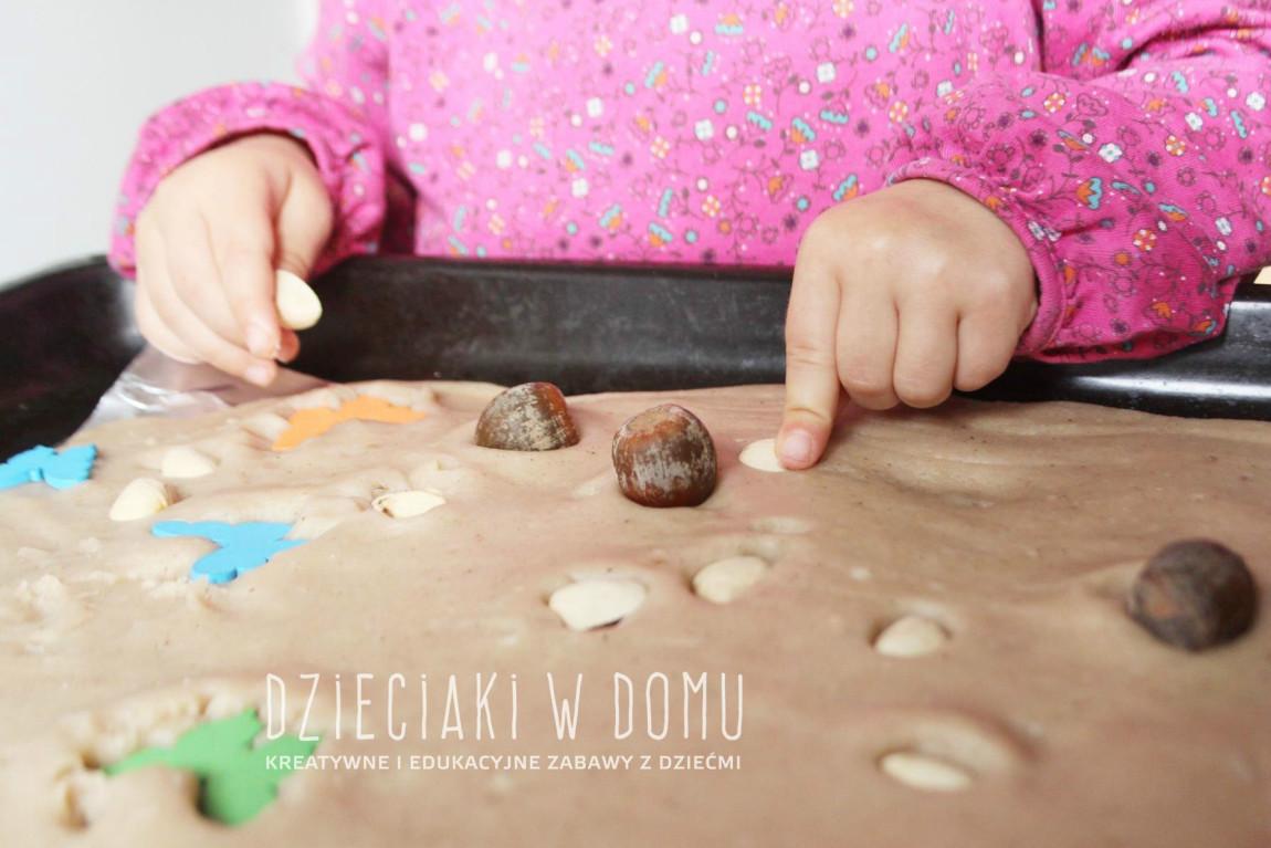 Kompozycja w ciastolinie – spontaniczna twórczość malucha