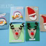 Pomysły na proste kartki świąteczne