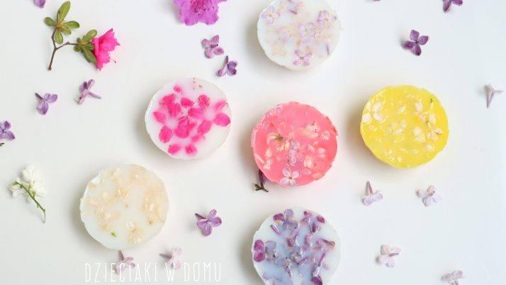 Mydełka domowej roboty – pomysł na prezent na Dzień Mamy
