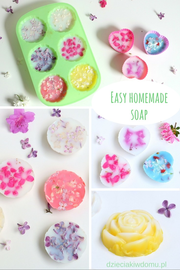 easy hommade soap