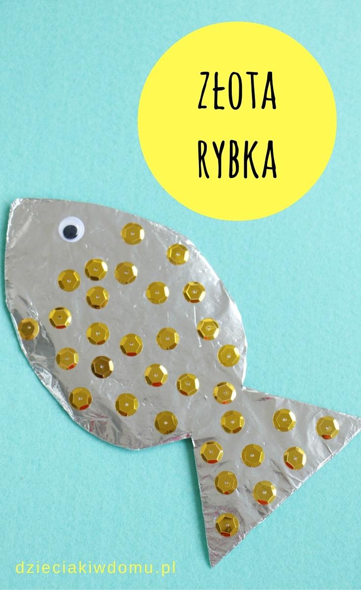 złota rybka - praca dla dzieci