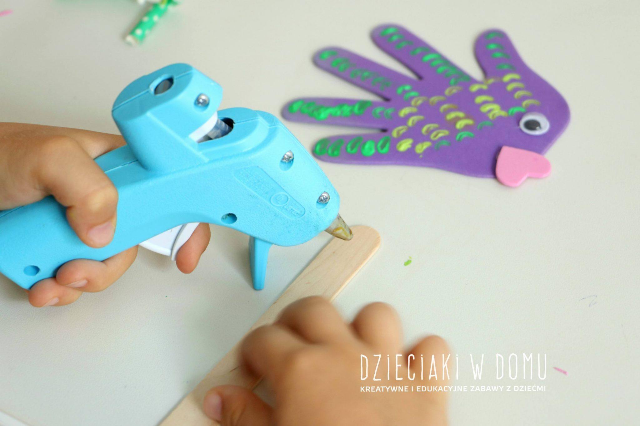rybki kukiełki - praca techniczna dla dzieci