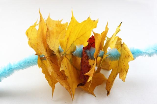 jesienne liście - zabawy