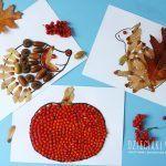 Jesienne wyklejanki – pomysły na prace plastyczne dla dzieci