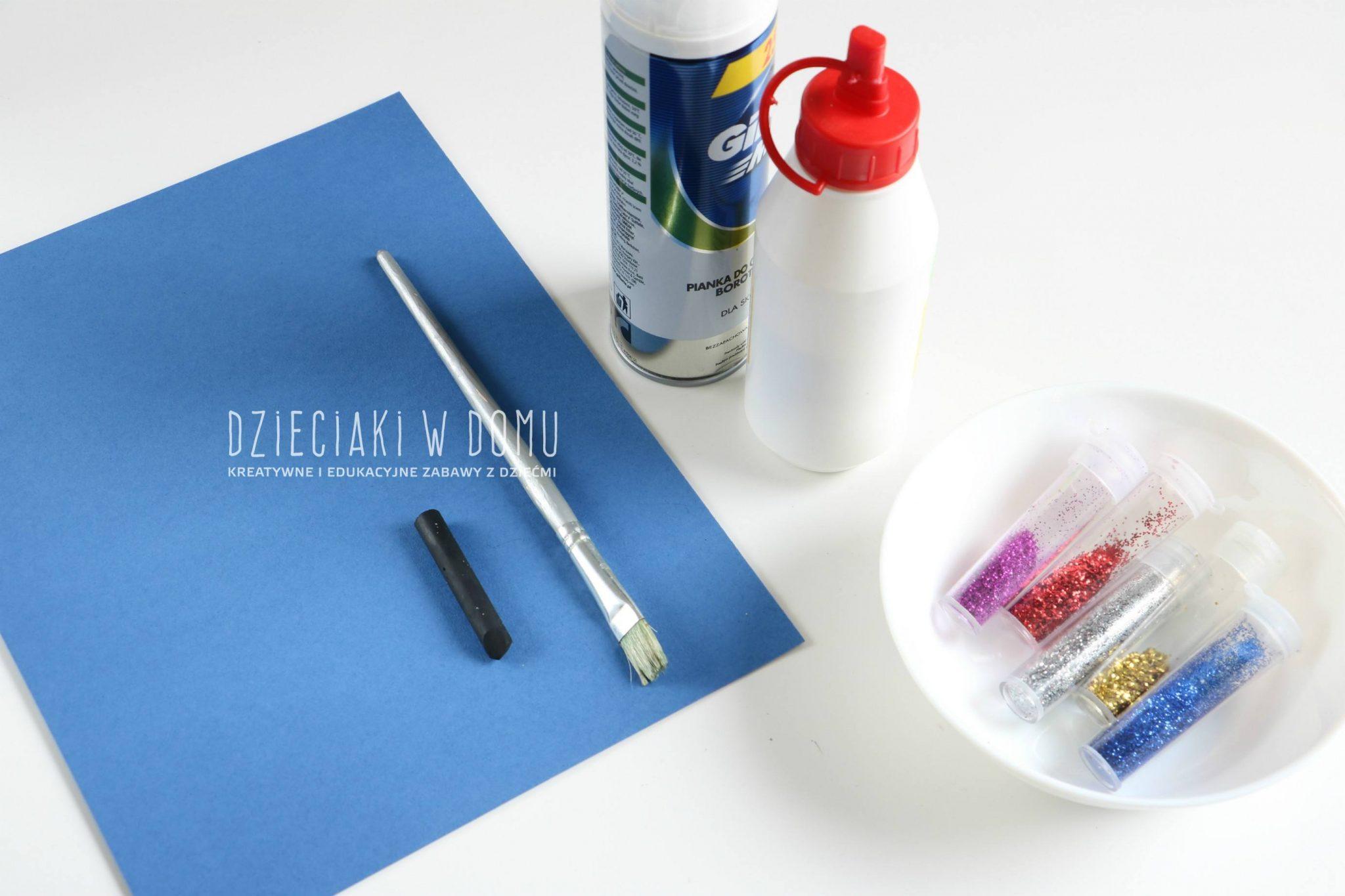 jak zrobić puszystą farbę