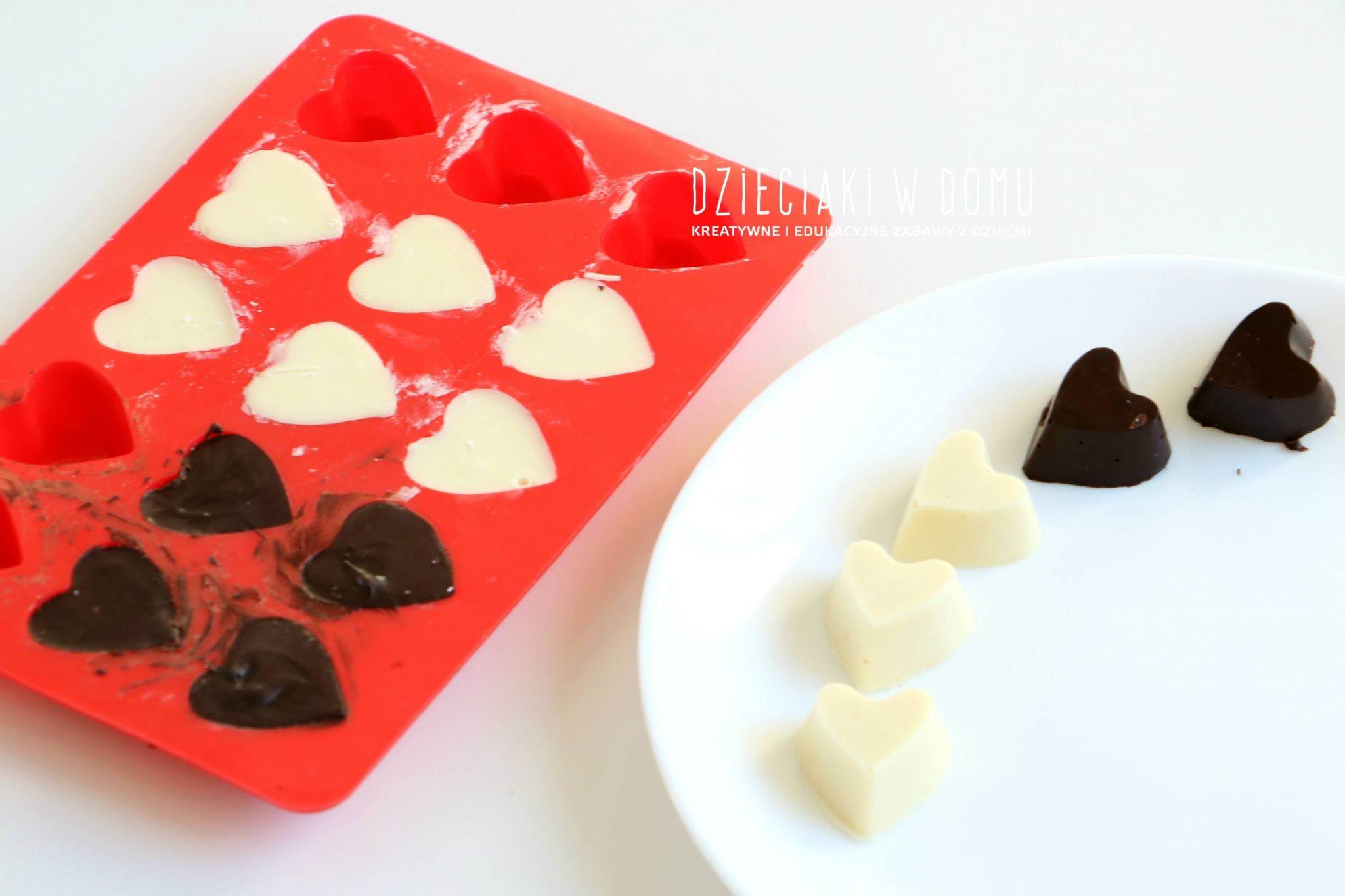 czekoladki domowej roboty