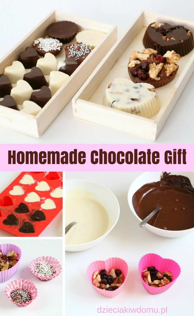 homemade chocolate gift
