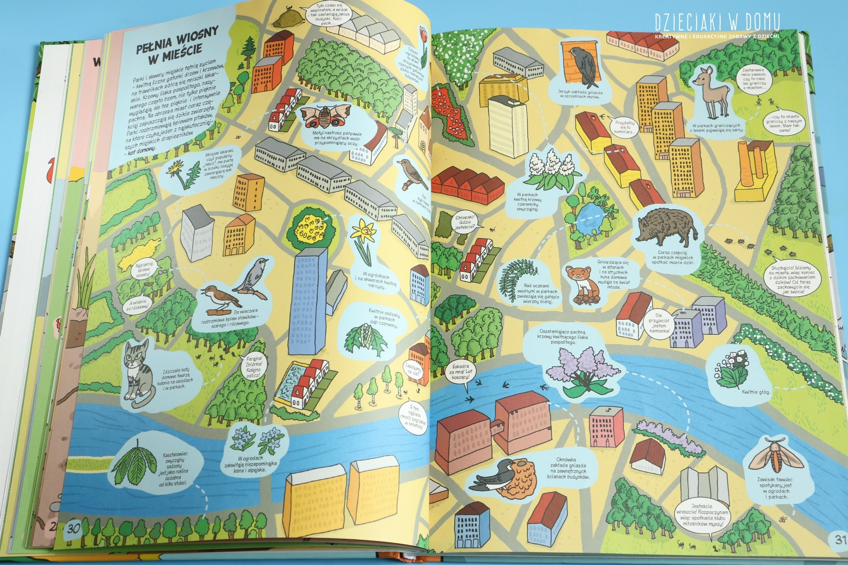 wiosna - materiały edukacyjne dla dzieci