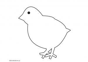 kurczak szablon
