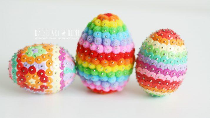 Kolorowe jajka – dekoracja Wielkanocna