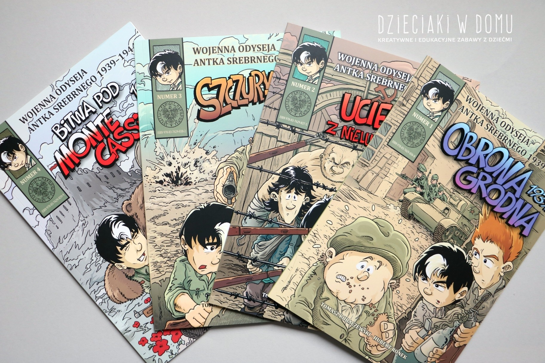 wojenna odyseja - komiks