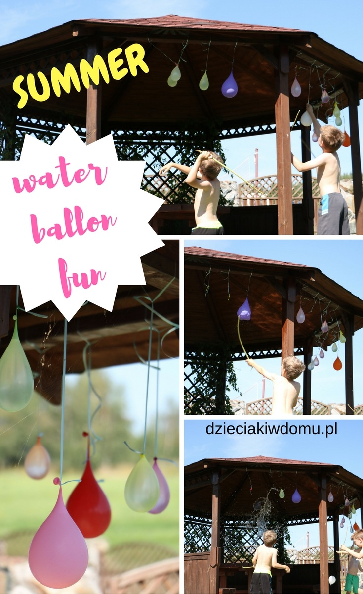 summer water ballon fun