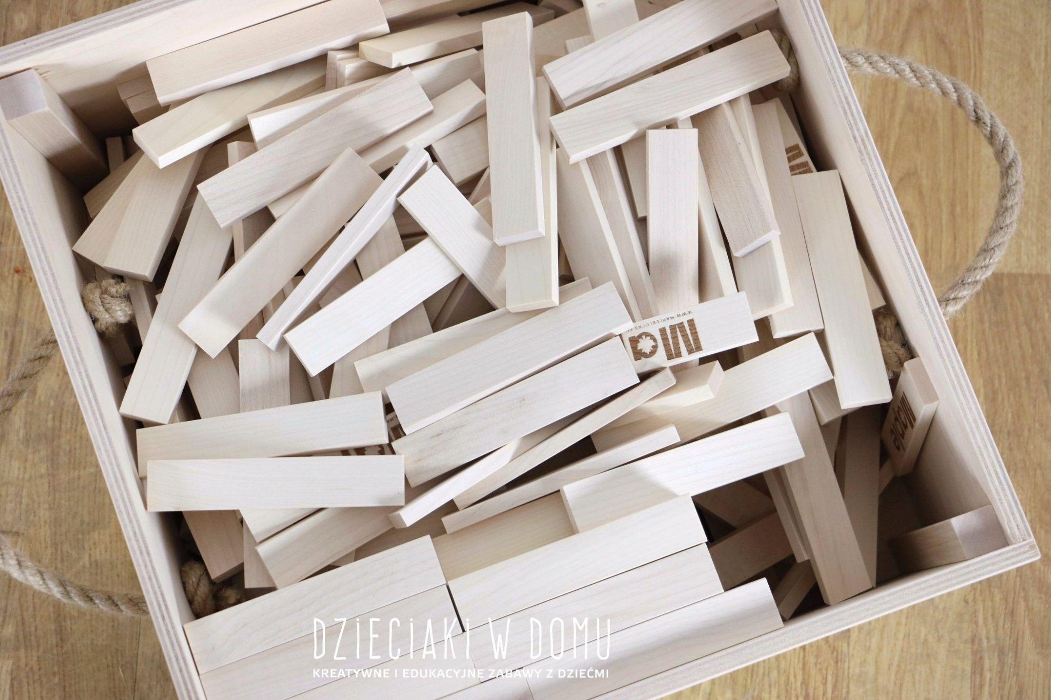 drewniane klocki maple - klockologia - klocki dla dzieci