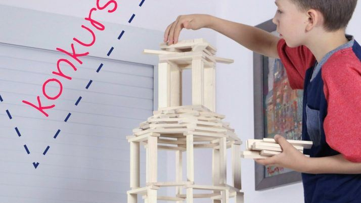 Drewniane klocki Maple – GENIALNE klocki konstrukcyjne dla dzieci