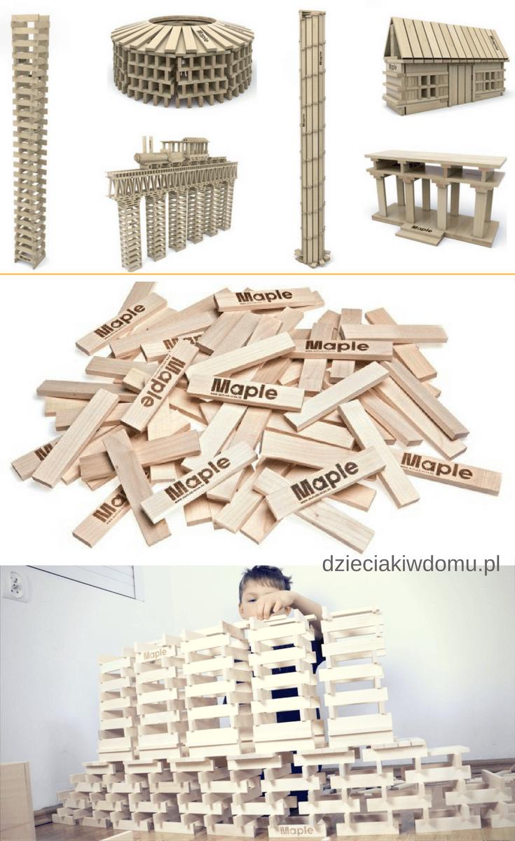 maple blocks - drewniane klocki dla dzieci