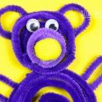 Miś – pomysł na pracę plastyczną dla dzieci