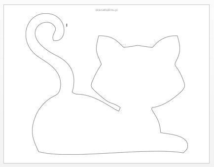 szablon kota 2