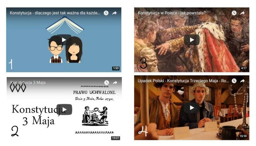 konstytucja 3 maja filmiki edukacyjne