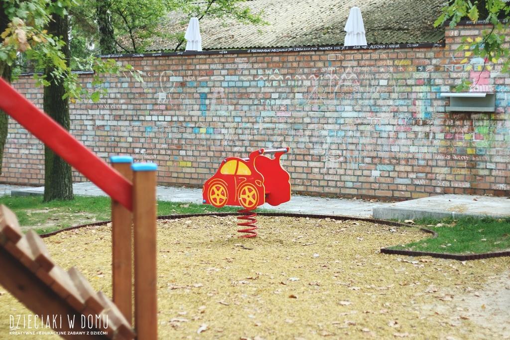 powsin park kultury, plac zabaw